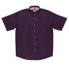 Camisa Xadrez Masculina Roxa TXC 24688