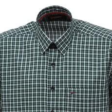 Camisa Xadrez Verde Manga Curta Masculina Fast Back 27721