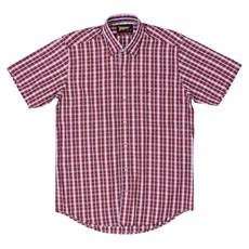 Camisa Xadrez Vermelha Fast Back Masculina 23129
