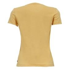Camiseta Amarela Feminina Básica Levi's 28167