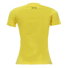Camiseta Amarela Feminina Básica Tuff 28358