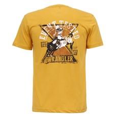 Camiseta Amarela Masculina Básica Original Wrangler 28202