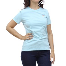Camiseta Azul Feminina Básica Levi's 29017