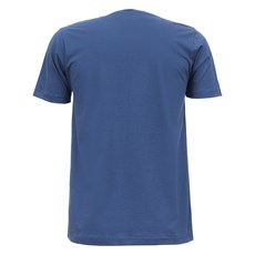 Camiseta Azul Masculina Estampada Smith Brothers 28175