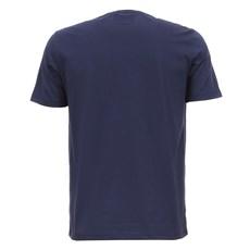 Camiseta Azul Masculina Tass Estampada 28160