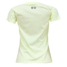 Camiseta Baby Look Feminina Amarela Tuff 27447