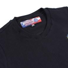 Camiseta Baby Look Feminina Preta Rodeo Western 26368