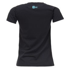 Camiseta Baby Look Feminina Preta Smart Choice 27452