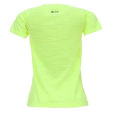 Camiseta Baby Look Feminina Verde Florescente Tuff 27442