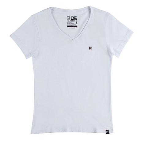 Camiseta Básica Feminina TXC Branca 26102