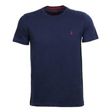Camiseta Básica Masculina Azul Austin Western 25061