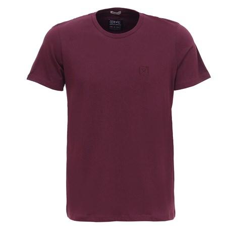 Camiseta Básica Masculina Bordo TXC 29360