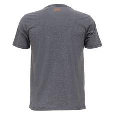 Camiseta Básica Masculina Cinza Mescla Tuff 27924