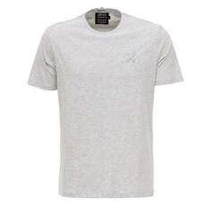 Camiseta Básica Masculina Cinza Mescla TXC 27946