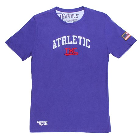 Camiseta Básica Masculina Roxa TXC 24685
