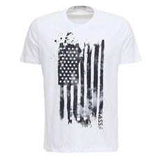 Camiseta Branca Estampada Masculina Tassa 27744