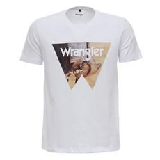 Camiseta Branca Estampada Original Wrangler 27904