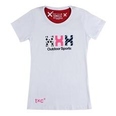 Camiseta Branca Feminina Estampada TXC 26087