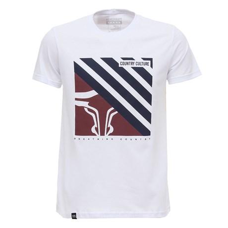 Camiseta Branca King Farm Masculina 28002