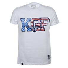 Camiseta Branca Masculina Estampada King Farm Original 25715