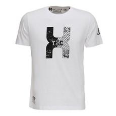Camiseta Branca Masculina Estampada TXC 26079