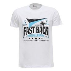 Camiseta Branca Masculina Fast Back 28448
