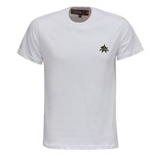 Camiseta Branca Masculina Gola Redonda Rodeo Western 26356