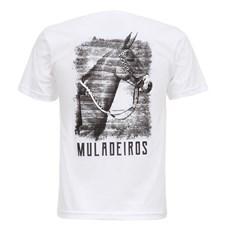 Camiseta Branca Masculina Muladeiros Texas Diamond 27821