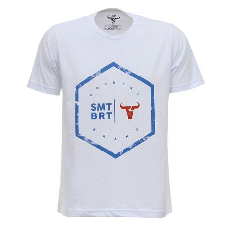 Camiseta Branca Masculina Smith Brothers 28181