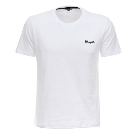 Camiseta Branca Masculina Wrangler Original 26863