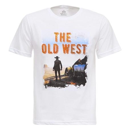 Camiseta Branca The Old West Masculina Texas Diamond 27819