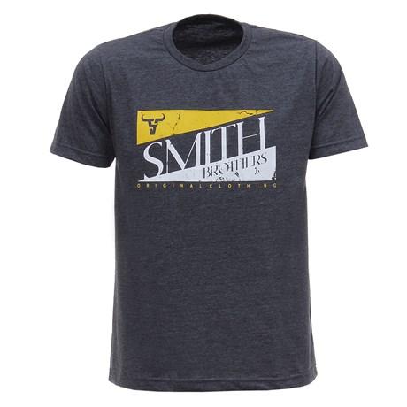 Camiseta Cinza Masculina Smith Brothers 28183