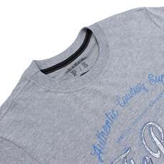 Camiseta Cinza Mescla Gringa's Western Original Masculina 23933