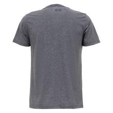 Camiseta Cinza Mescla Masculina Estampa Pena USA Tuff 27921