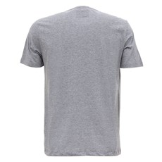 Camiseta Cinza Mescla Masculina Tassa Estampada 28158