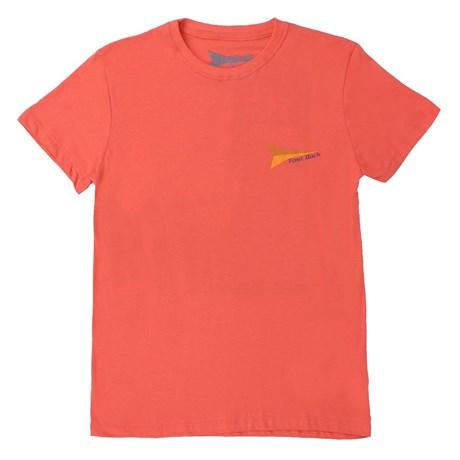 Camiseta de Algodão Coral Fast Back 20452
