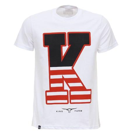 Camiseta Estampada King Farm Masculina 28007