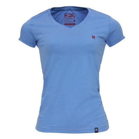 Camiseta Feminina Azul TXC  27083