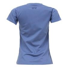 Camiseta Feminina Baby Look Azul Tuff 27445