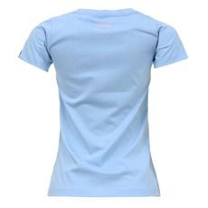 Camiseta Feminina Baby Look Azul Tuff 27454