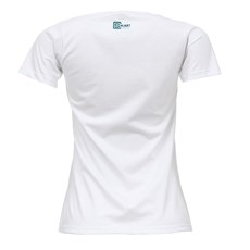 Camiseta Feminina Baby Look Branca Smart Choice 27450