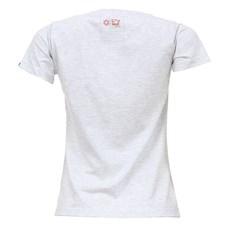 Camiseta Feminina Básica Cinza Mescla Tuff 27451