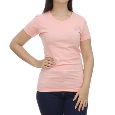 Camiseta Feminina Básica Rosa TXC 28789
