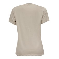 Camiseta Feminina Bege Original Wrangler 26618