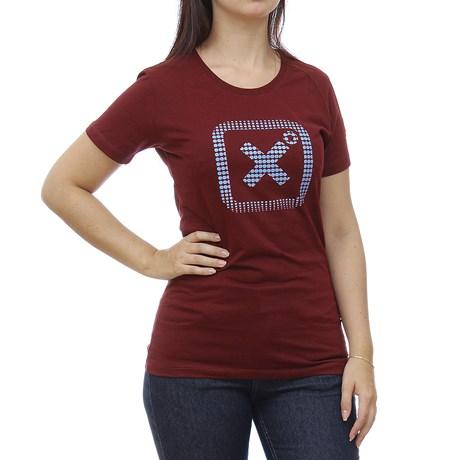 Camiseta Feminina Bordo TXC 29081