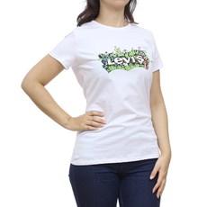 Camiseta Feminina Branca Estampada Levi's 29749