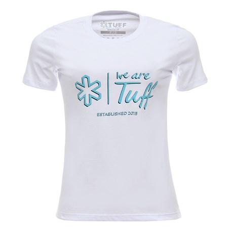 Camiseta Feminina Branca Tuff 28361