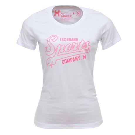 Camiseta Feminina Branca TXC 26880
