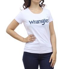 Camiseta Feminina Branca Wrangler 28993