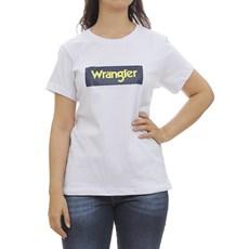 Camiseta Feminina Branca Wrangler 30041